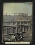 Thumbnail preview of Utsikt fra takbalkongen til Staatsdruckerei i…