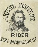 Visualizza photographers label of Rider, Boston USA, wit… anteprime su