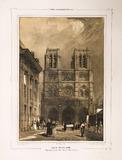 Visualizza Paris daguerréotypé No 19, Eglise Notre-Dame.… anteprime su