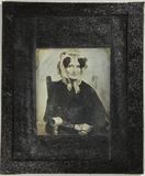 Visualizza Gemäldereproduktion einer Frau in dunkler Kle… anteprime su