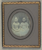 Thumbnail preview of Double portrait of unidentified girls