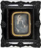 Miniaturansicht Vorschau von Portrait of a lady with a lace hat