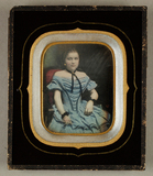 Visualizza Mädchenbildnis, koloriert, um 1850 anteprime su