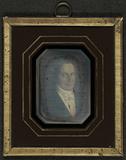 Visualizza Portrett av en uidentifisert mann. Håndkolore… anteprime su