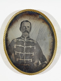 Thumbnail preview of Portrait of unknown officer. (Case missing, r…