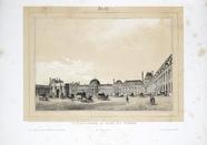 Visualizza Place du Carousel et Palais des Tuileries, Pa… anteprime su
