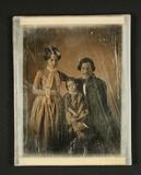 Thumbnail preview of Bildnis eines jungen Ehepaars, Dreiviertelfig…