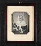 Visualizza Sittende kvinne, fru Elsbetha Thorsen (født H… anteprime su