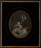 Forhåndsvisning av Emil Stelzner (1859-1905) mit der Kinderfrau …