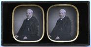 Miniaturansicht Vorschau von Die dezent kolorierte Stereoaufnahme zeigt ei…