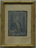 Visualizza Portrait of an unknown man, sitting in a chai… anteprime su