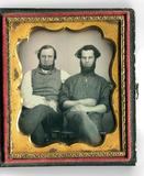 Thumbnail preview of Zwei bärtige Männer, vielleicht Vater und Soh…