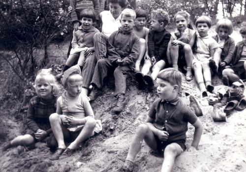 kleuterschool uitstapje bossen