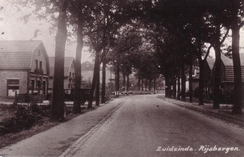 Zicht op Antwerpseweg, St Bavostraat