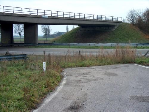 Viaduct De Blauwe Hoef over de rijksweg A29 (A4)