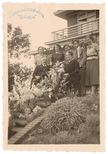 Burgemeester Verheijen met zijn gezin