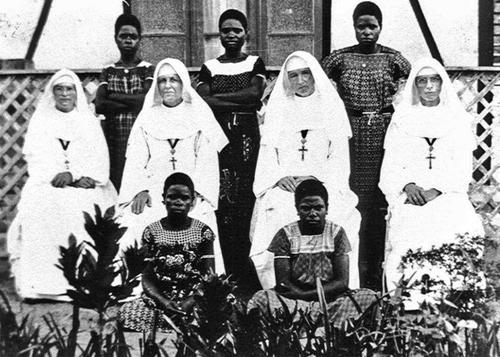 zuster Francicinia van der Voort.
