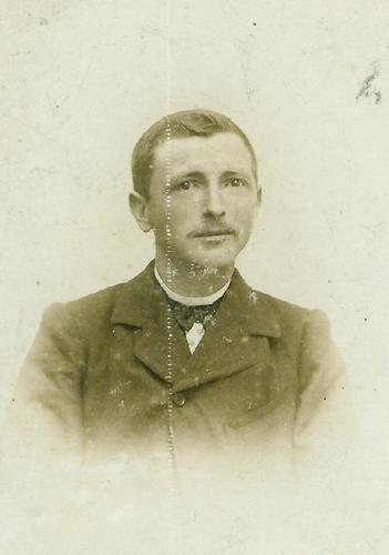 Portretfoto van Petrus Verpalen, gehuwd met Adriana Cornelia van de Reijt