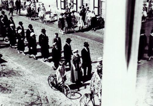 Familie Van Dinter in de Nieuwstraat