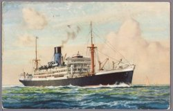 The Blue Funnel Line.