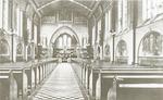 Interieur kapel van het pensionaat Saint Louis, aa...