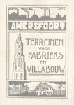 """Prentbriefkaart """"Amersfoort - terreinen voor fabri..."""
