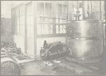 Een grote ketel in de fabriek van Huygen & Geveke....