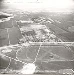 Luchtfoto van de Doornseweg met op de voorgrond ee...
