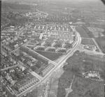 Luchtfoto van het zuidelijk deel van het Leusderkw...