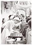 Poffertjes bakken tijdens het eeuwfeest (700 jaar ...