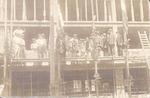 Bouw van de meubelwinkel en -fabriek A.H. van Nieu...