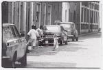 Kinderen in de Stovestraat, gefotografeerd bij ca....