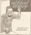 """Ansichtkaart voor Amersfoort """"Malaria-Vrij"""". Uitge..."""