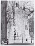 Tinnenburg, Muurhuizen 25: detailopname die de res...