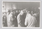 Bezoekers van de Technische Dag bij de AMAF (Brons...