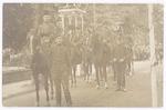 Onafhankelijkheidsfeesten (1813-1913). Groep huzar...