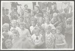 Feest op de Leusderweg na de bevrijding in 1945....