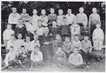 Klassefoto van de Openbare Lagere School aan de He...