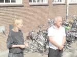 Inge van Run en Hans Lemmerman vertellen in de Oud...