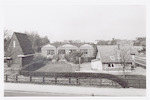 Gebouwen langs de Utrechtseweg bij de spoorlijn, g...