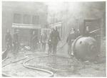 Brand bij de Firma J. van Vollenhoven (olieslageri...