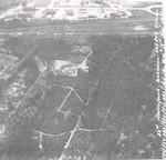 Luchtfoto van een deel van het bos Birkhoven met D...
