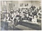 Klassefoto van de Vincent van Goghschool, openluch...