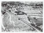 Luchtfoto van de Ponlijn en omgeving. Linksonder d...