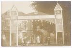 """Erepoort """"Oranje Boven - 1813-1913"""" voor de Onafha..."""