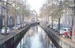 Kortegracht, vanaf de brug in de Muurhuizen....