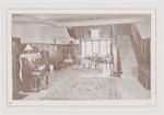 Interieur hall in Rusthuis de Lichtenberg aan de U...