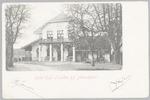 Hotel Oud Leusden aan de Dodeweg, hoek Doornseweg....