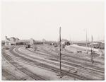 Het spoorweg emplacement bij de bocht Smallepad/ S...