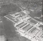 Luchtfoto van nieuwbouw in de hoek tussen Randenbr...
